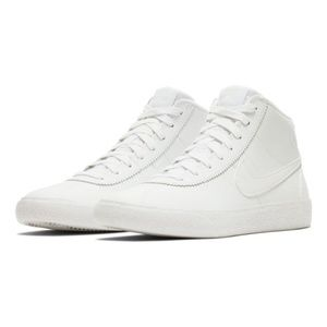 NEW Nike Sb Bruin High White Skateboarding Shoes